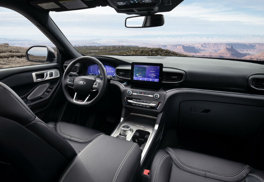 2020 Ford Explorer Hybrid Interior