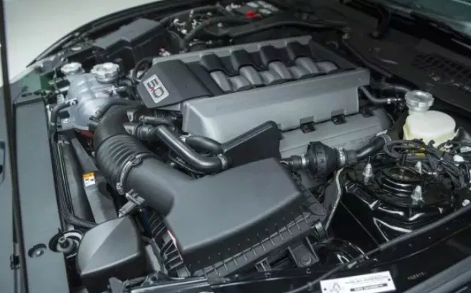 2021 Ford Mustang GT Engine