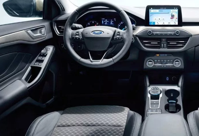 2021 Ford ST Interior