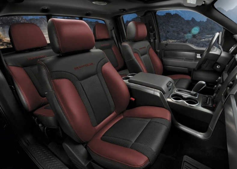2020 New Ford Raptor Interior