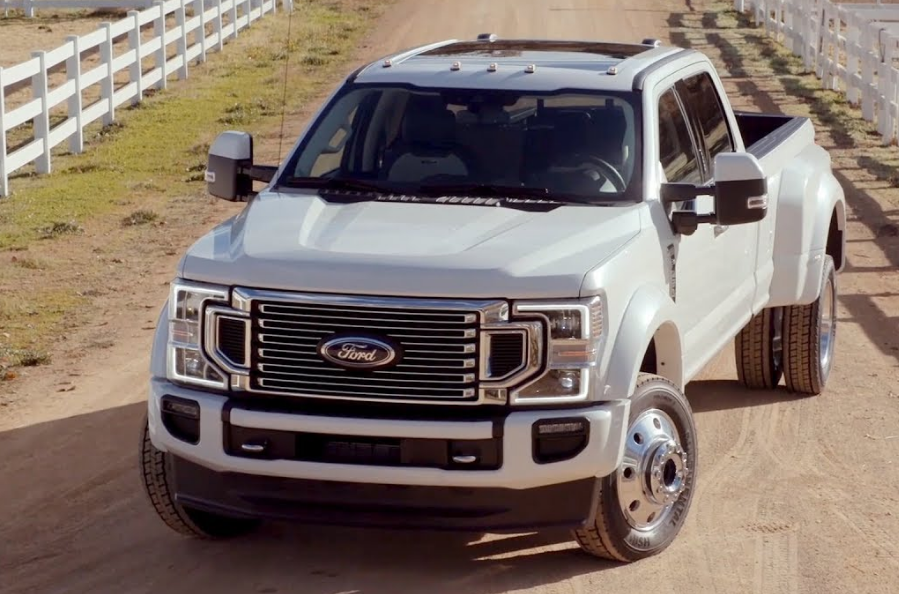 2020 ford f450 Exterior