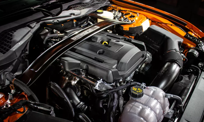 The 2020 Ford Mustang Engine