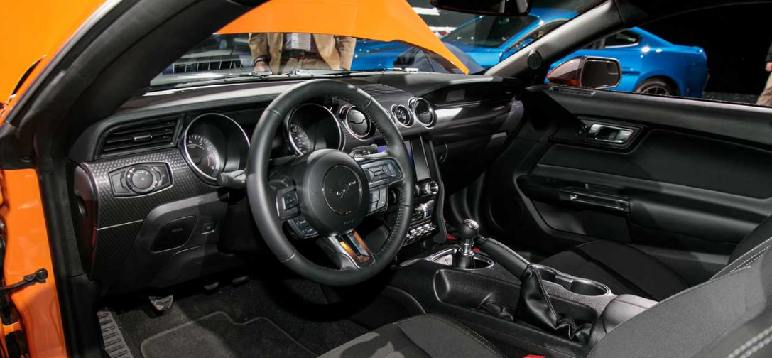 The 2020 Ford Mustang Interior
