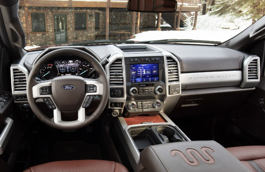 2021 Ford Super Duty Interior