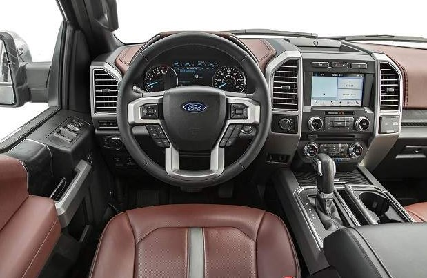 2021 Ford Lightning Interior