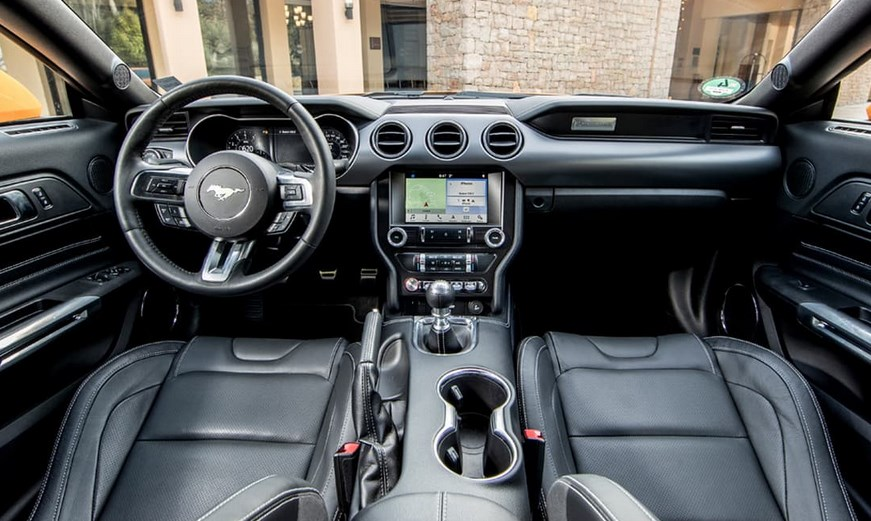 2021 Ford Mustang Interior