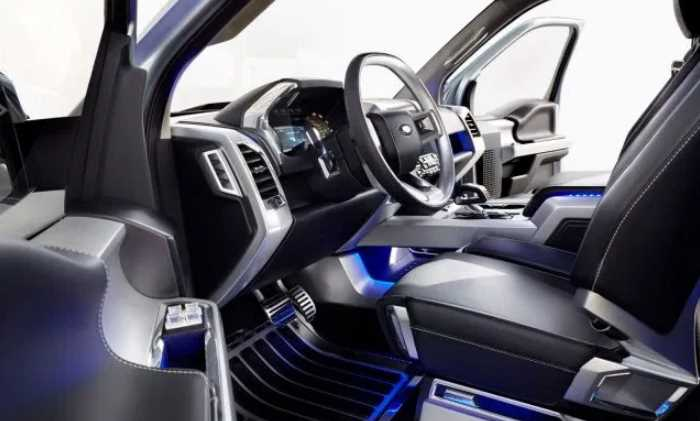 New 2020 Ford Atlas Interior