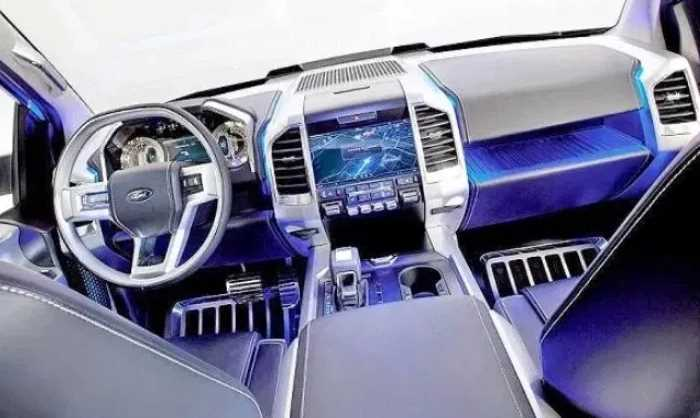 New 2021 Ford Atlas Interior