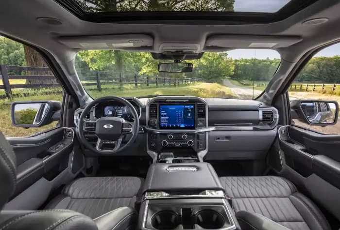 New 2021 Ford Excursion Price Interior