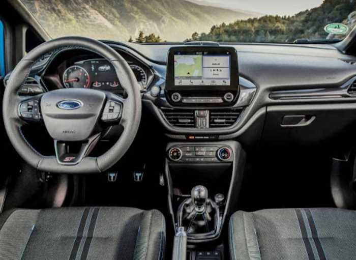 New 2021 Ford Fiesta Hatchback Facelift Interior