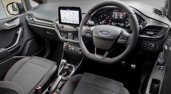 New 2021 Ford Fiesta RS Price Interior