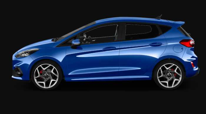 New 2021 Ford Fiesta ST Line Edition Exterior