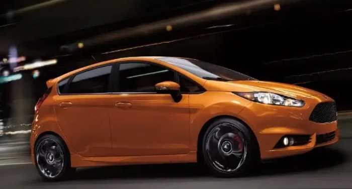 New 2021 Ford Fiesta ST Price Exterior