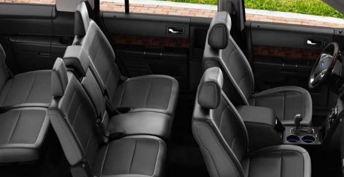 New 2021 Ford Flex Price Interior