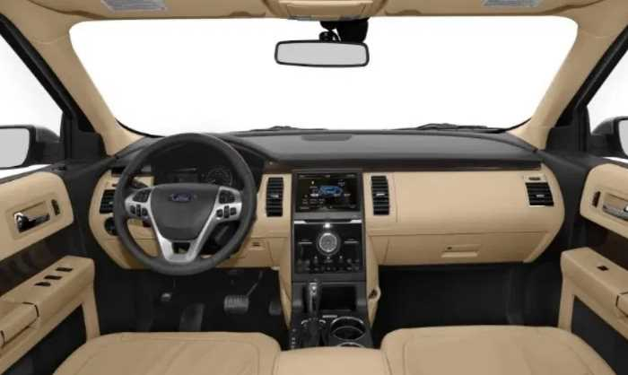 New 2021 Ford Flex Redesign Interior