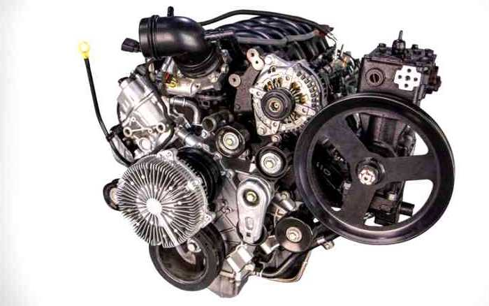 New 2022 Ford F350 Super Duty Engine