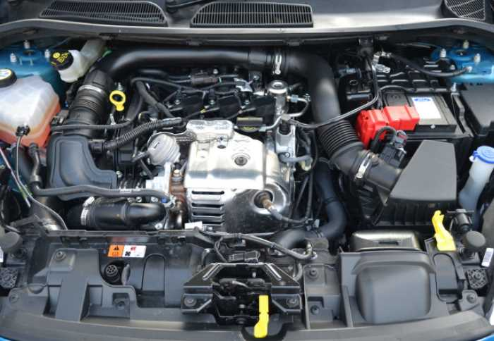 New Ford Fiesta 2021 Facelift Engine