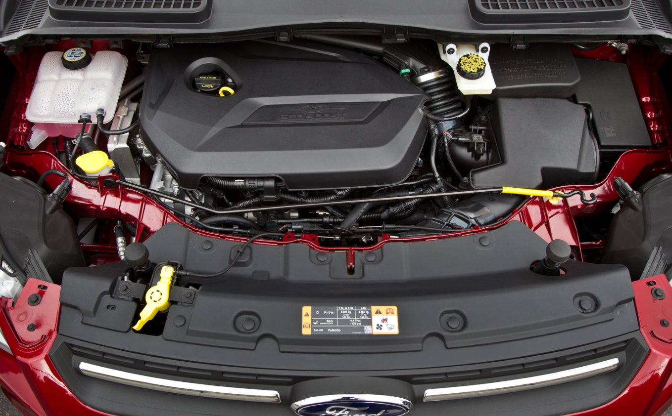 New 2022 Ford Escape Engine