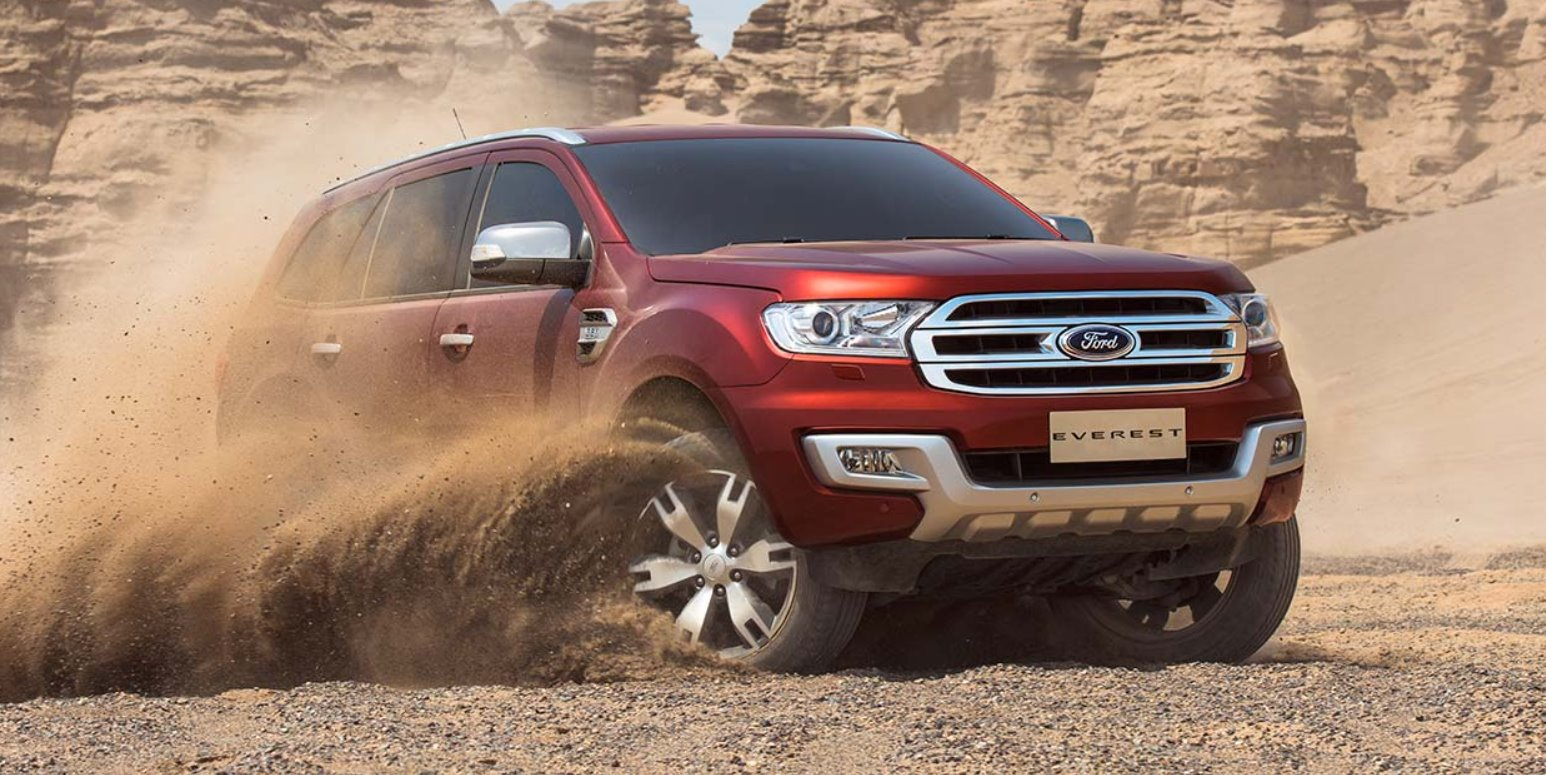 New 2022 Ford Everest Exterior