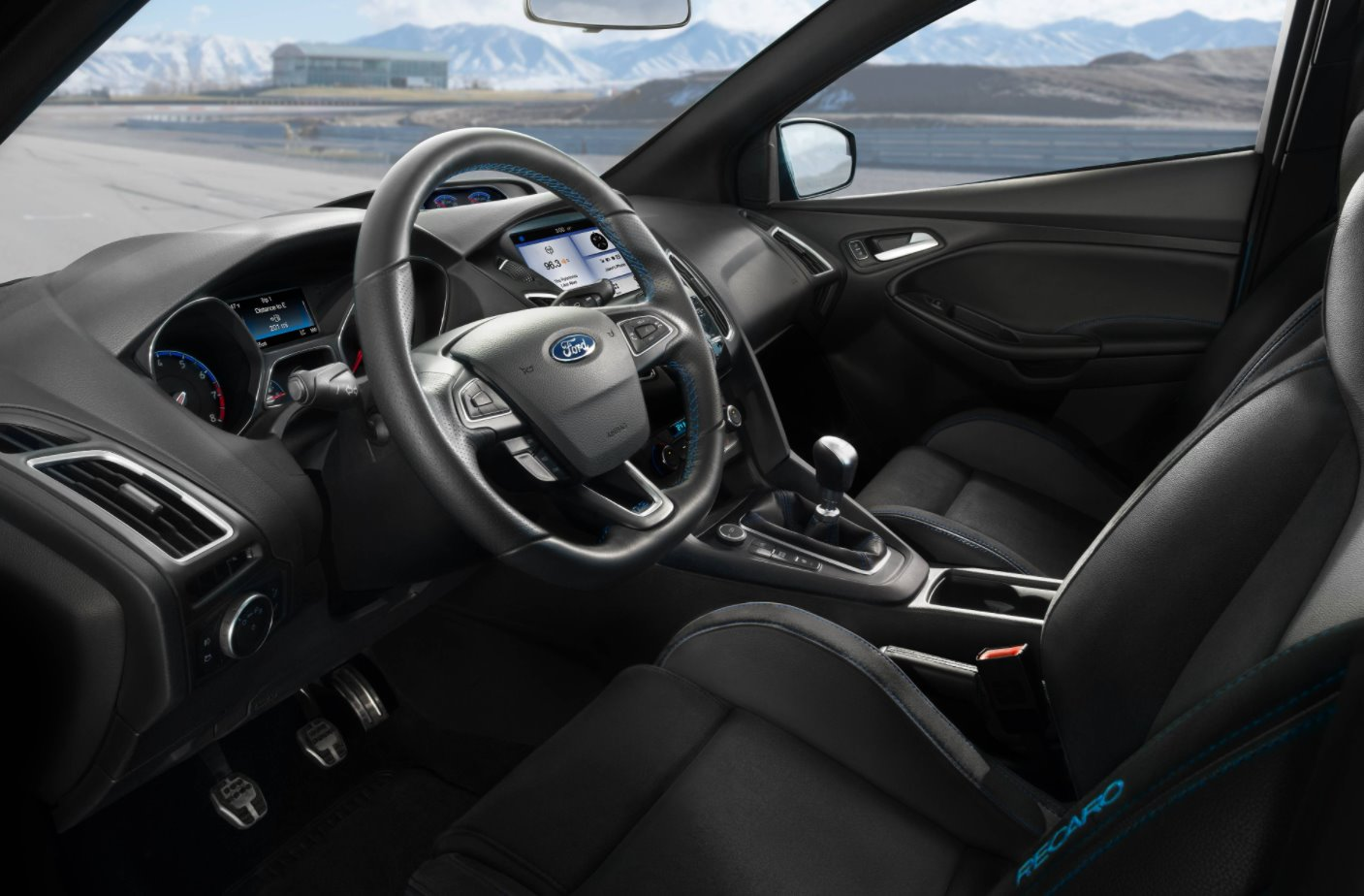 New 2022 Ford Focus RS Interior