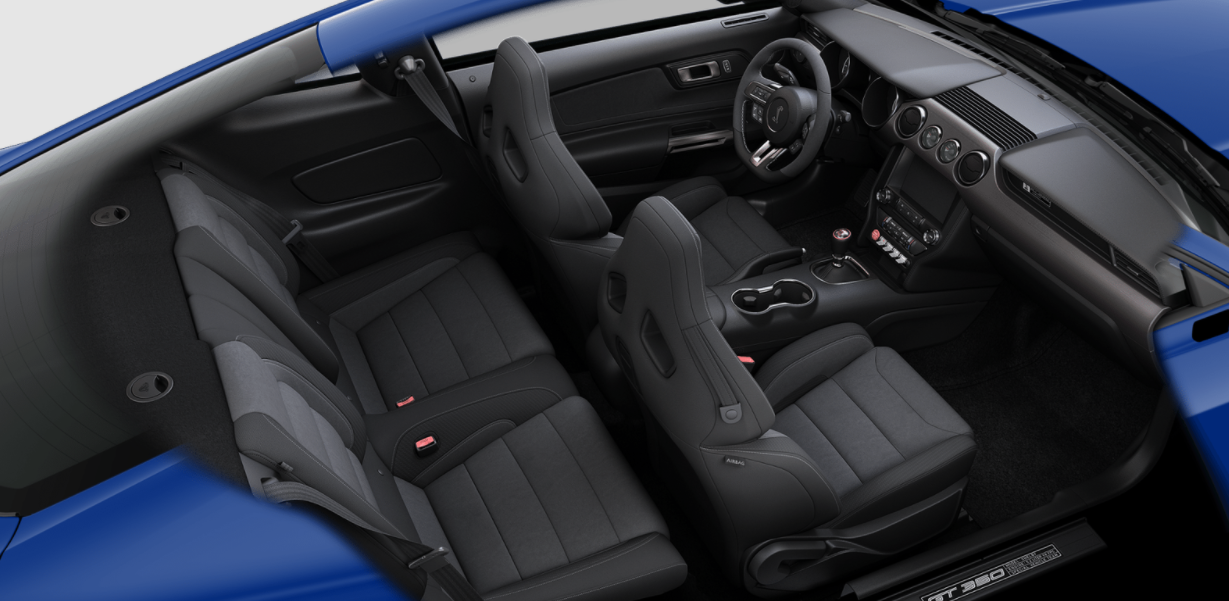 2022 Ford Shelby GT350 Interior